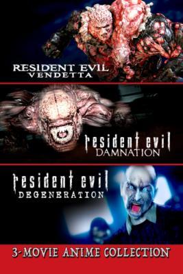 Resident Evil 3 Movie Anime Collection Set Price Drop Alert